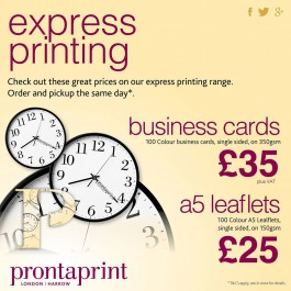 10 off business cards and a5 leaflets harrow deals store 10 off business cards and a5 leaflets reheart Images